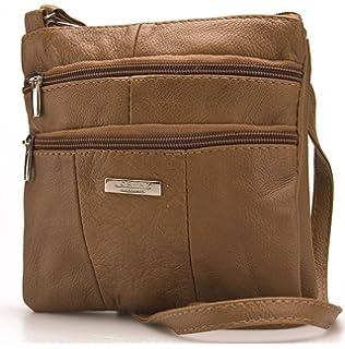 3dc7962bbd Lorenz Ladies Small Genuine Soft Leather Cross Body   Shoulder Bag (1)    1941