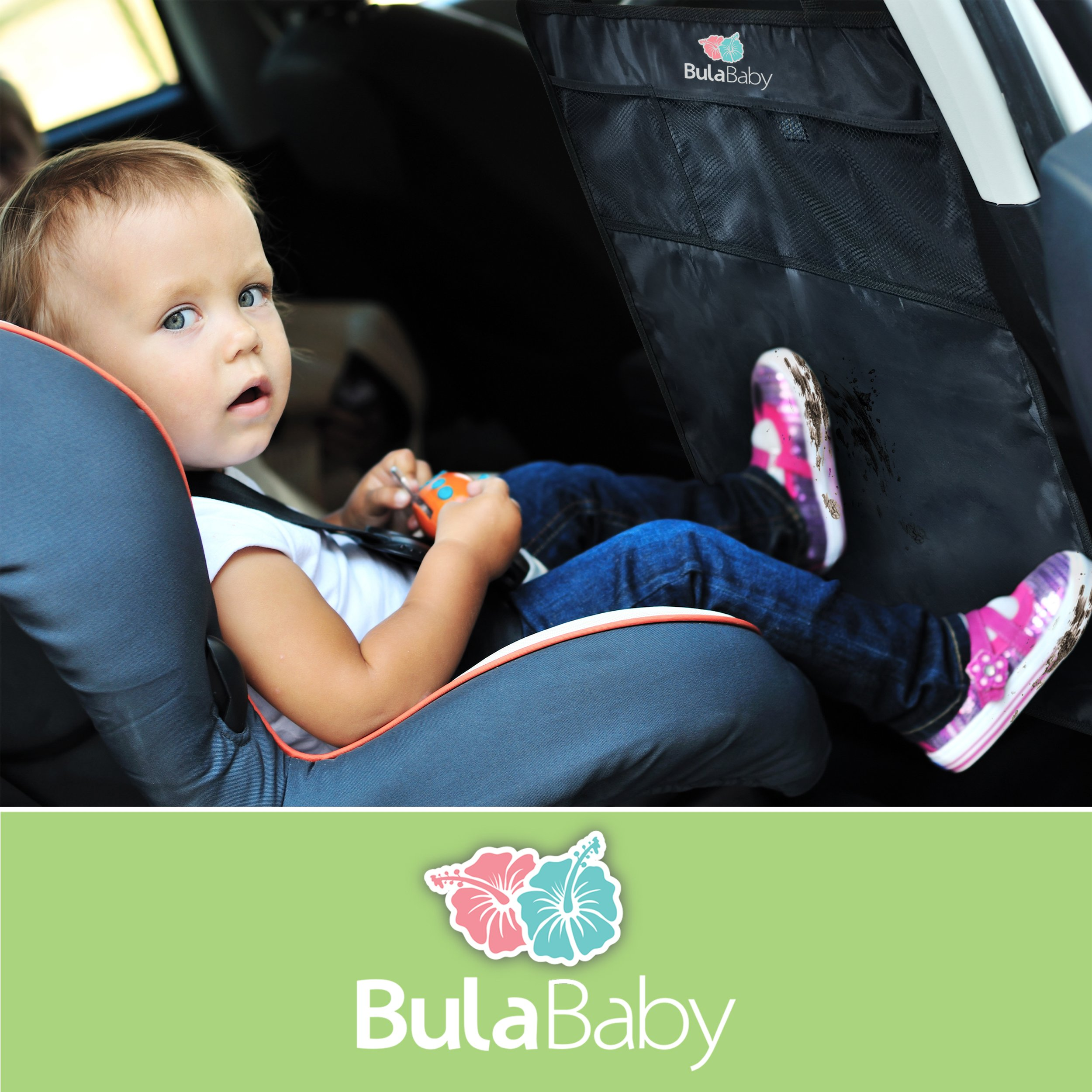 Bula Baby - Back of Seat Protector - 2 Count - Complete With Pocket Organizer by Bula Baby (Image #2)