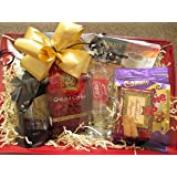 Luxury coffee gift set ,coffee hamper with cafetiere