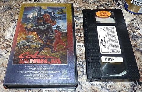 Amazon.com: Cobra Vs. Ninja [VHS]: Richard Harrison, Stuart ...