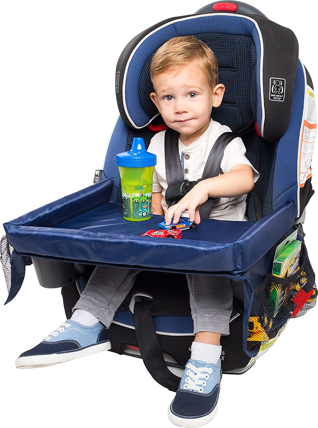 OxGord Children's Snack, Play, & Learn Activity Travel Tray for Baby Car Seats OxGord Children's Snack PLAT-01