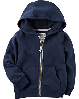 8e70c2da14 Amazon.com  OshKosh B Gosh Boys  Kids Full Zip Logo Hoodie