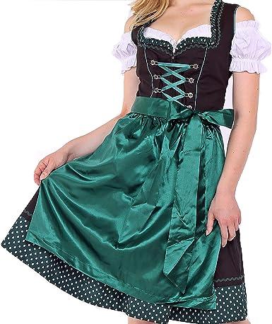 Trachtenkleid Oktoberfest Dirndl Polka Dots