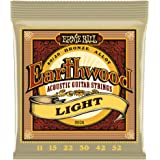 Ernie Ball Earthwood Light 80/20 Bronze Acoustic Set.011 - .052