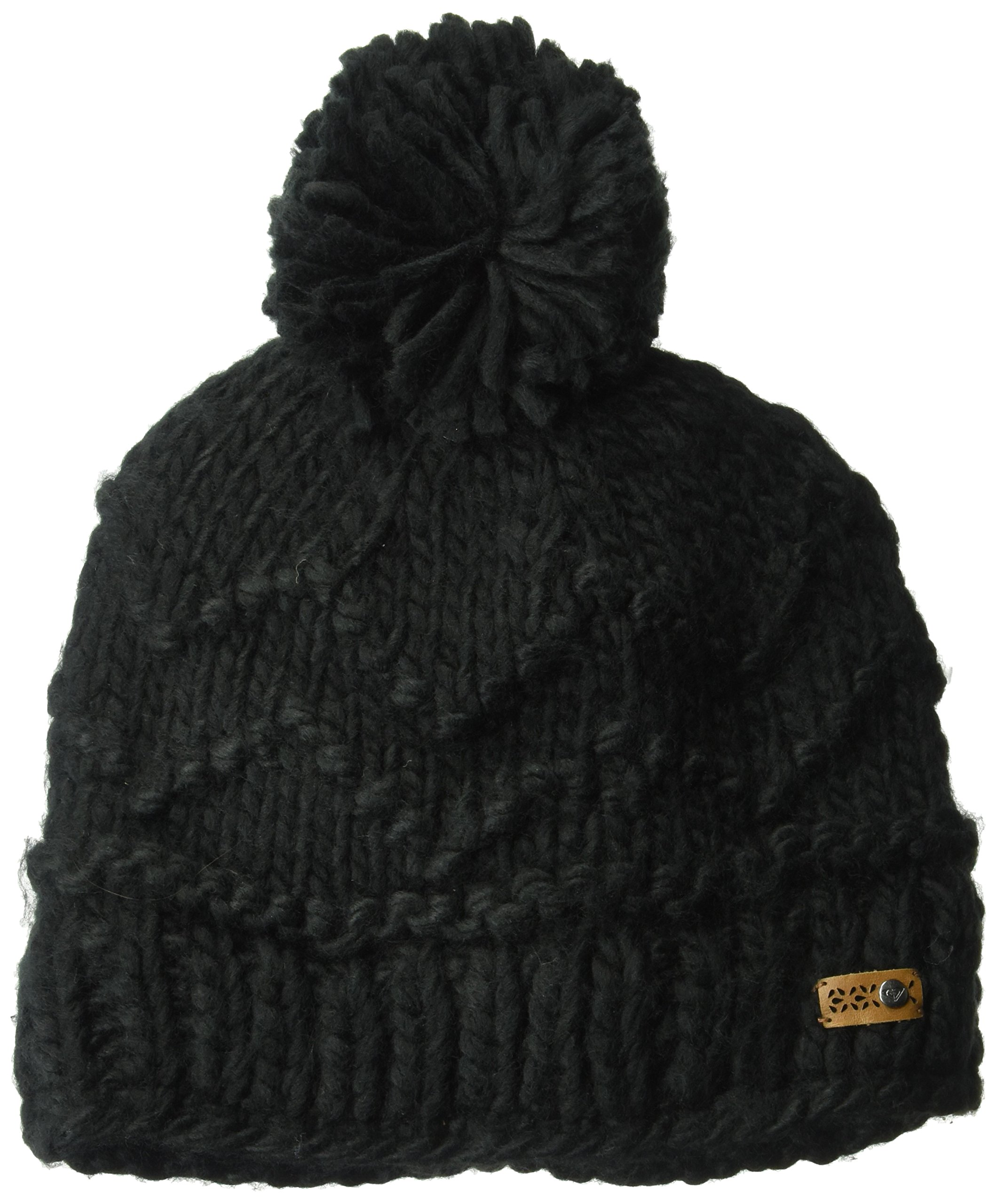 Roxy Snow Junior's Winter Beanie, True Black, One Size