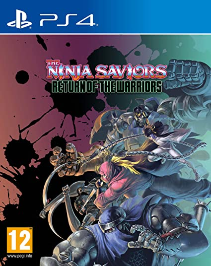 The Ninja Saviors: Return Of The Warriors For PlayStation 4 ...