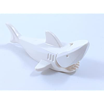 Lego White Shark with Gills rare: Toys & Games