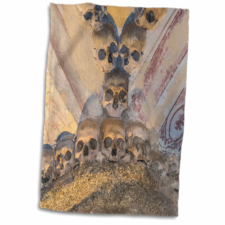 3dRose Portugal, Evora, Iglesia de San Francisco, Toalla de Capilla de Hueso, Color Blanco, 38 x 55 cm: Amazon.es: Hogar