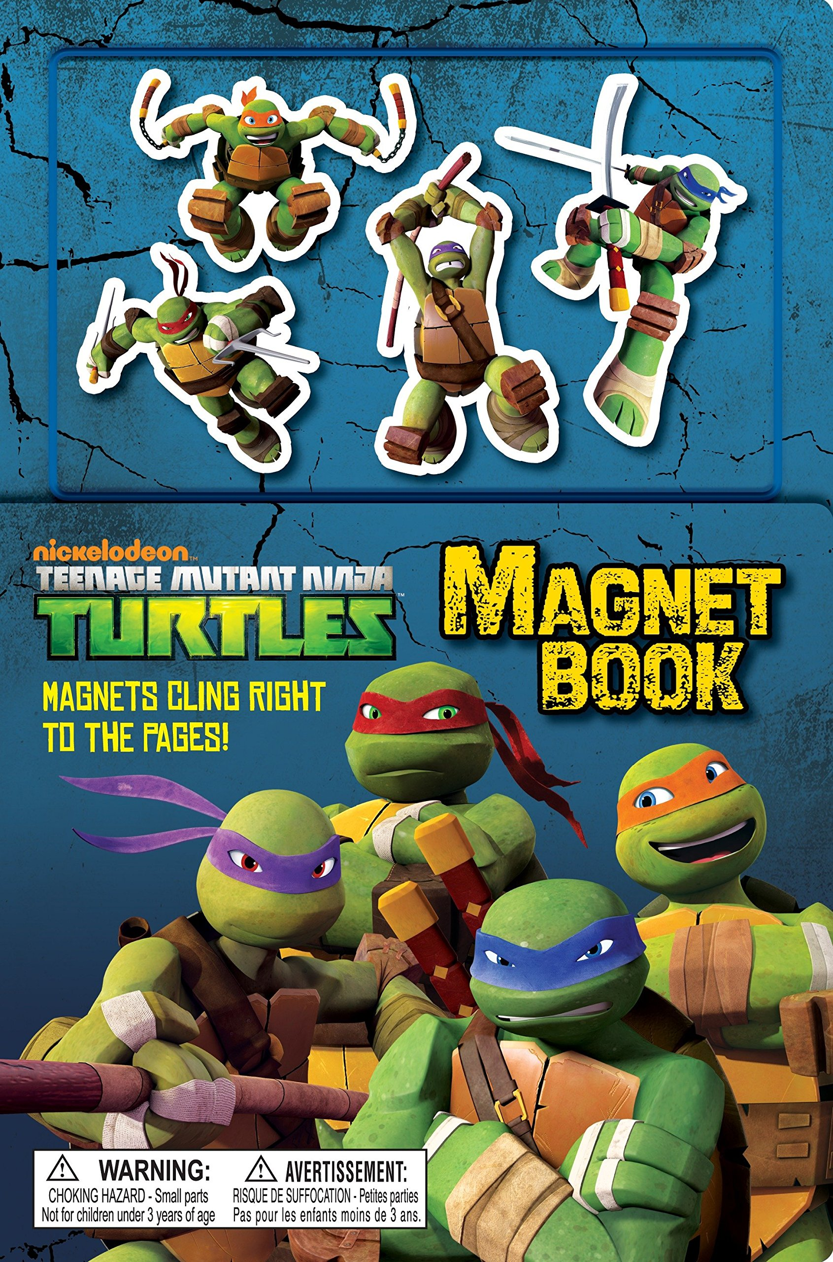 Teenage Mutant Ninja Turtles Magnet Book With Magnet s ...