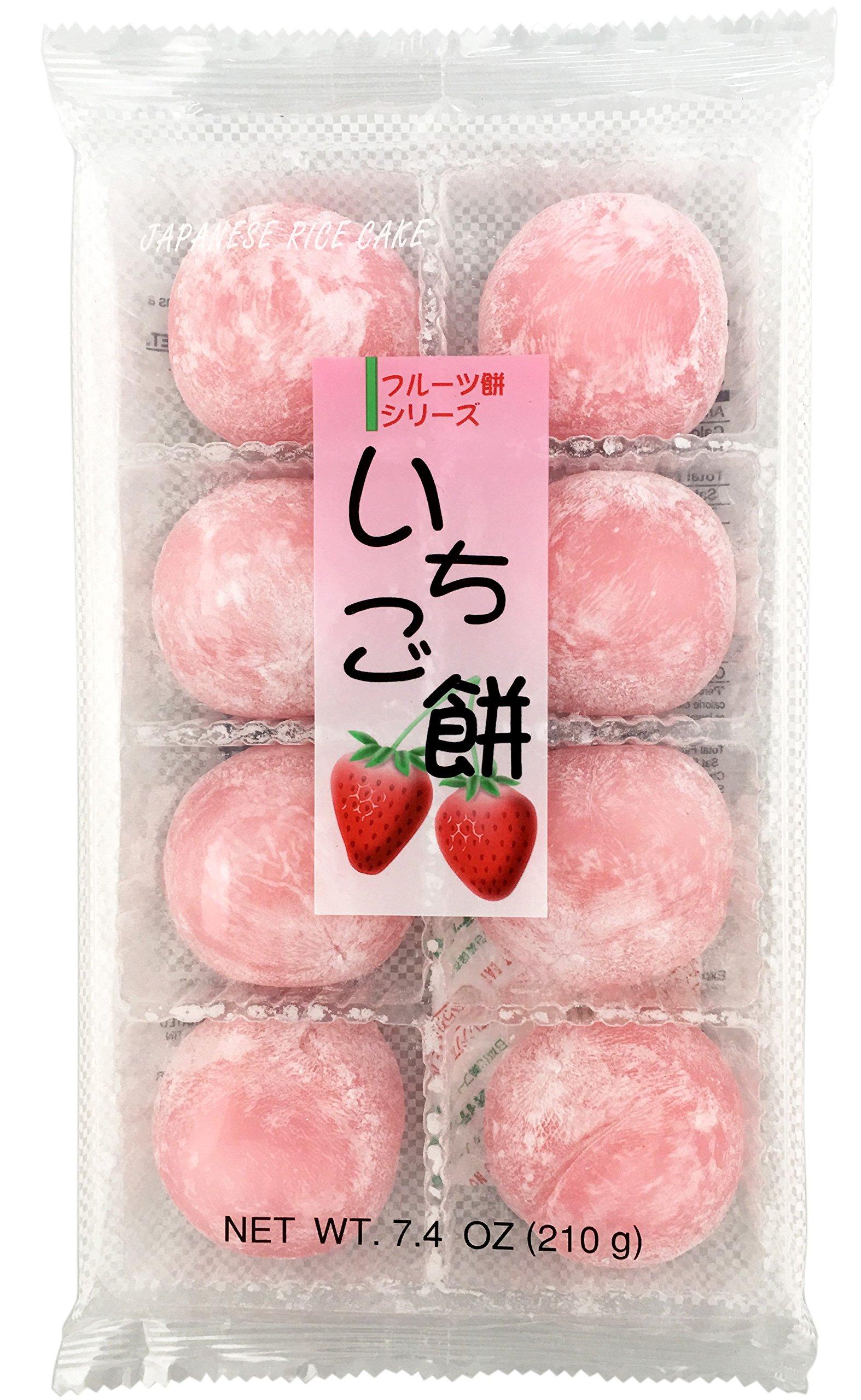 Fruits Mochi Daifuku Ichigo 7.4oz/210g by Daifuku
