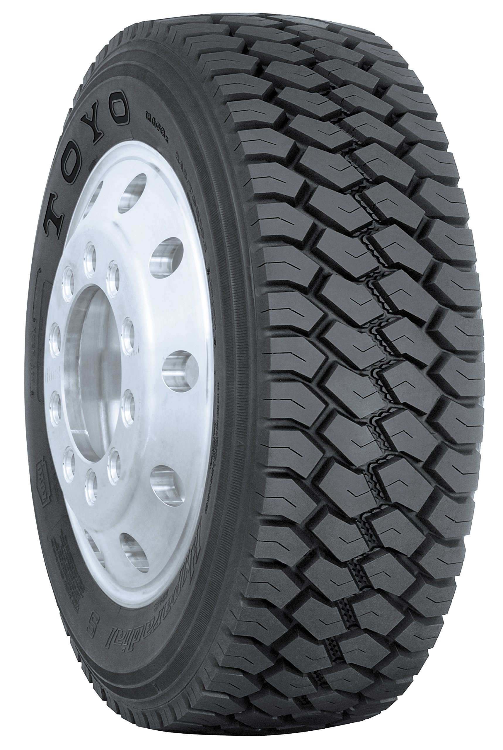 Toyo M-608 Commercial Truck Radial Tire - 265/70R19.5 140L