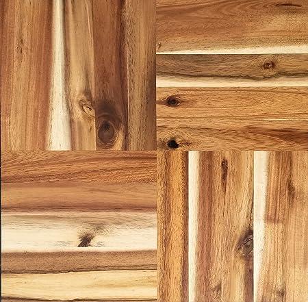 Square Wood Floor Tiles To Parquet Square Sealed Hardwood Floor Tiles Tiles Amazoncouk Kitchen