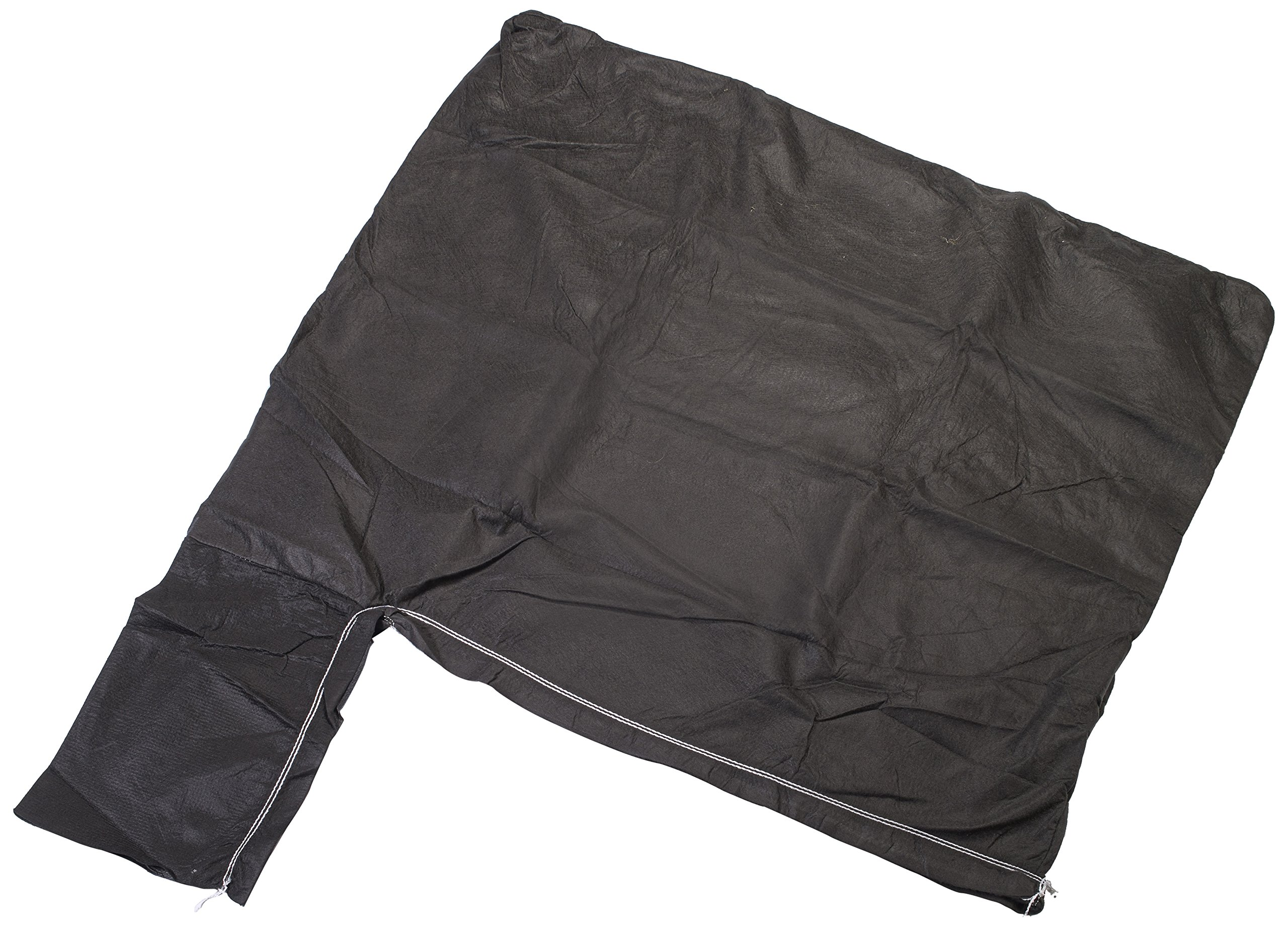 Mutual 15925 8 oz Non Woven Geotextile Disposal Sediment Filter Wetland Bag, 6' Length x 5' Width by Mutual Industries