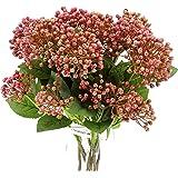 "Ausbender Berry Spray Americana Berry/Picks Faux Stems 21.5""(BuddingHydrangeaSpray) Blossom Tall Plant Outdoor Floral Arrange"
