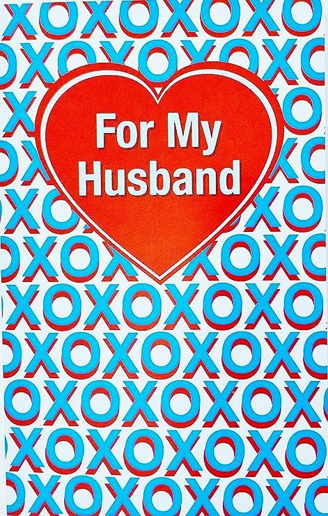 Amazon.com: Para mi marido XOXO – feliz cumpleaños a el amor ...