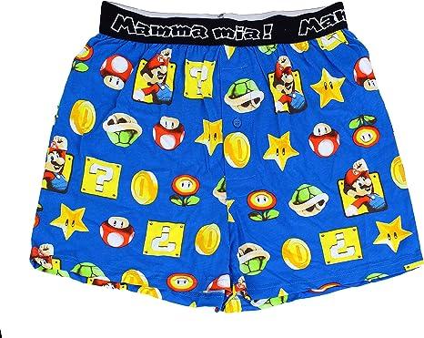 Super Mario Official Men/'s Underwear//Boxers