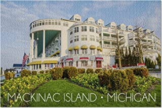 product image for Mackinac Island, Michigan, Grand Hotel 78535 (19x27 Premium 1000 Piece Jigsaw Puzzle for Adults, Made in USA!)