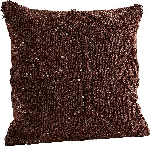 Madam Stoltz - Funda de cojín (algodón, 45 x 45 cm), diseño ...