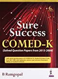Sure Success Comed-K (Solved Question Papers From 2015-2004)