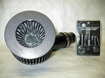 "2.75/"" Short Ram Cold Air Intake Filter Round Universal BLUE For Subaru 2"