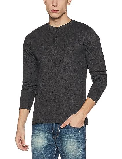 a5b916dbabc0e Highlander Men s Cotton T-Shirt (13130001502346 HLSH009182 Medium Charcoal)