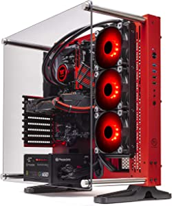 Thermaltake LCGS Wraith AIO Liquid Cooled CPU Gaming PC (AMD Ryzen 5 3600X 3.8GHz, DDR4 3200MHz 16GB RGB Memory, GeForce RTX 2060 Super 8GB, Gen4 M.2 1TB, Win 10 Pro) P3RD-X570-AP3-LCS