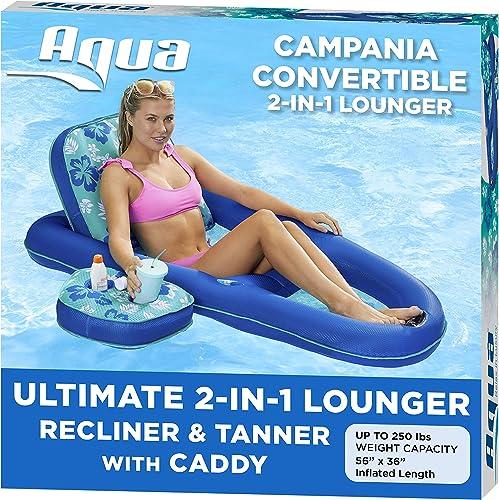 Aqua-Campania-Ultimate-2-in-1-Recliner-&-Tanner-Pool-Lounger