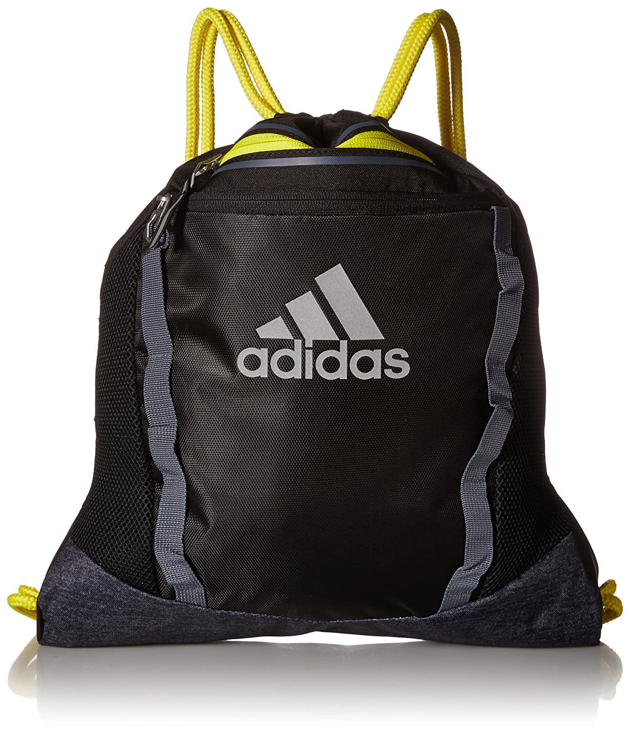 975869 Adidas Rumble Sackpack Onix Jersey//Black//Semi Solar Yellow One Size Agron Inc adidas Bags