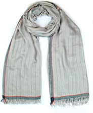 GIULIA BIONDI 100% made in Italy Scarf Natural Colors Shawl Stole Wrap Italian Soft Lightweight Oversized Women Men