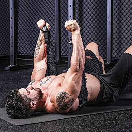 Push Up Machine Chest Upper Body Workout Builder With Built-in Resistance Bands
