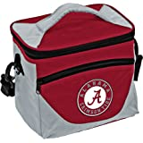 Collegiate 9-Can Cooler Tote with Front Dry Storage Pocket and Shoulder Strap