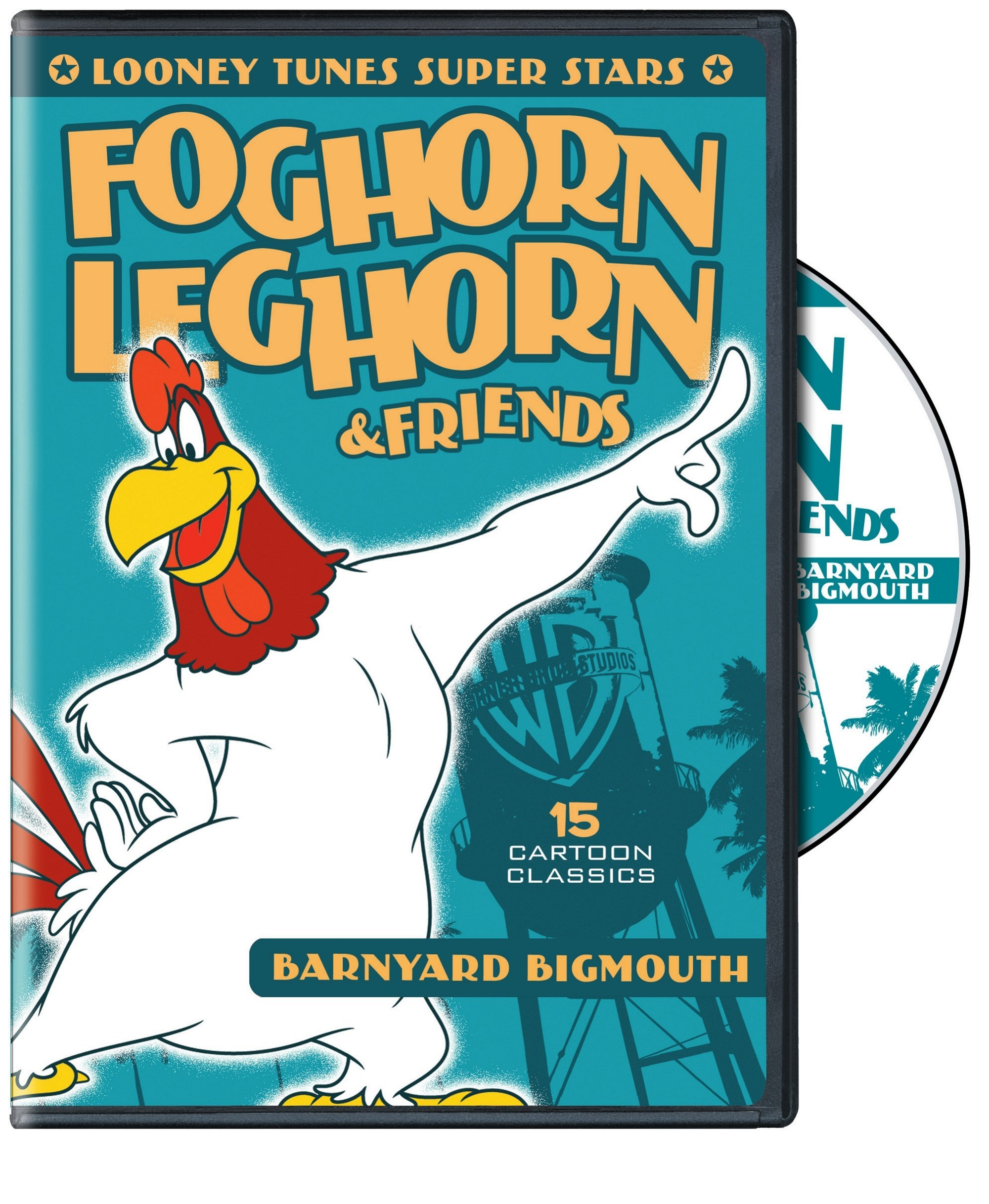 DVD : Looney Tunes Super Stars: Foghorn Leghorn & Friends: Barnyard Bigmouth (Remastered, Restored, Eco Amaray Case, Dolby)