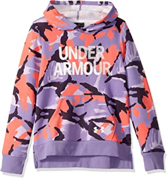 Under Armour Rival Fleece Wordmark Hoodie Capucha Niñas