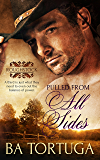 Pulled from All Sides: ( A Gay Cowboy Romance) (Roughstock Book 6)