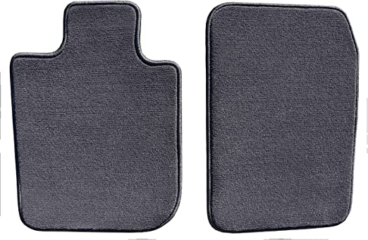 Polypropylene Fiber GG Bailey D3265A-F1A-CC-CHAR Front Set Custom Fit Car Mat for Select Ford Focus Models Charcoal