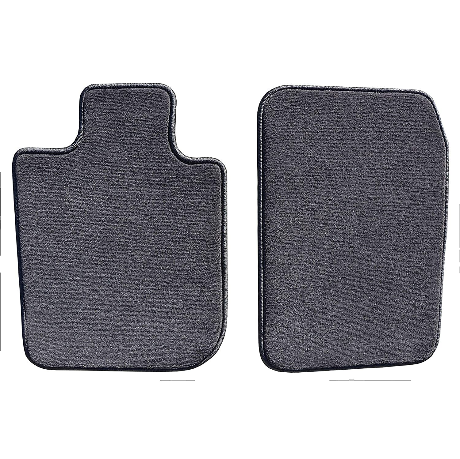 GGBAILEY D51525-F1A-CC-CHAR Courture Charcoal Front Set Custom Car Mats