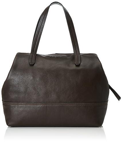 60717180301104 Damen Shopper, 38 x 31,5 x 13 cm, braun (taupe 717) Marc O'Polo