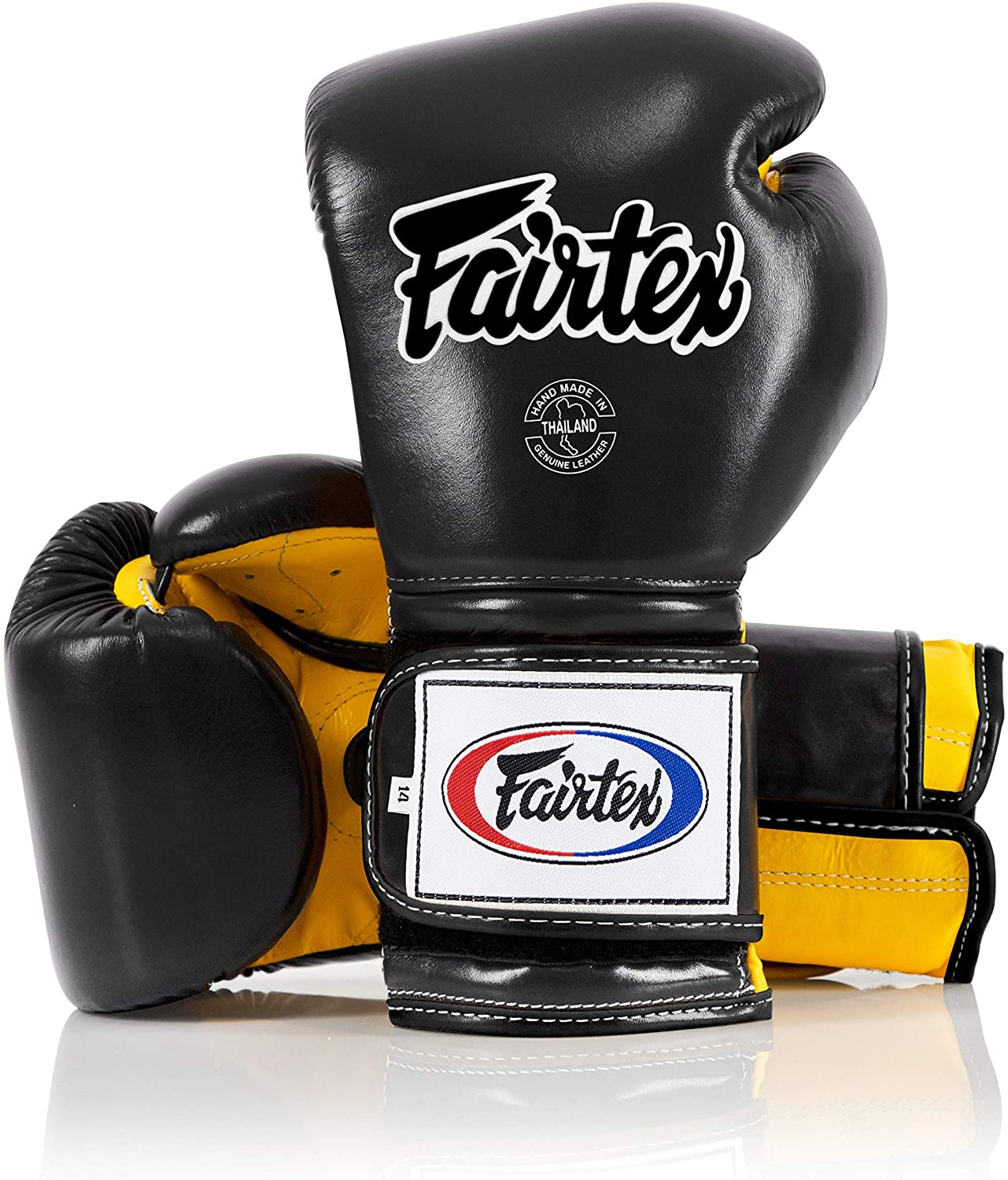 Minor Change Solid Black 12 14 16 oz Training /& Sparring Gloves for Kick Boxing MMA K1 Heavy Hitter Mexican Style Fairtex Muay Thai Boxing Gloves BGV9