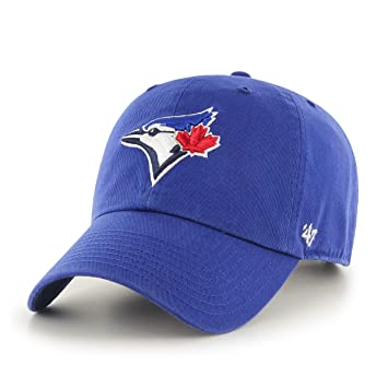 9ac80a00f3d 47 Brand B-RGW26GWS-RY MLB Toronto Blue Jays Clean up Adjustable Cap  (Royal
