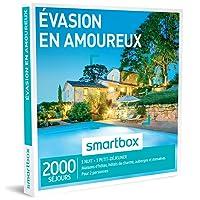SMARTBOX - Coffret Cadeau - EVASION EN AMOUREUX - 2000 séjours : maisons d'hôtes, hôtels de charme, auberges et domaines