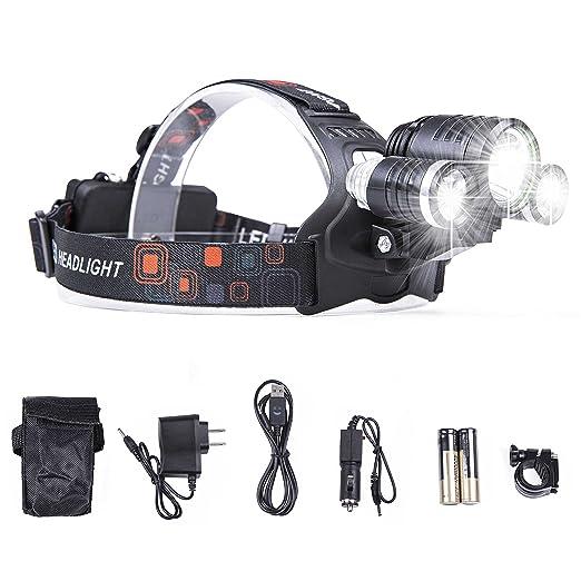 Review LIGHTESS Headlamp Led Headlight