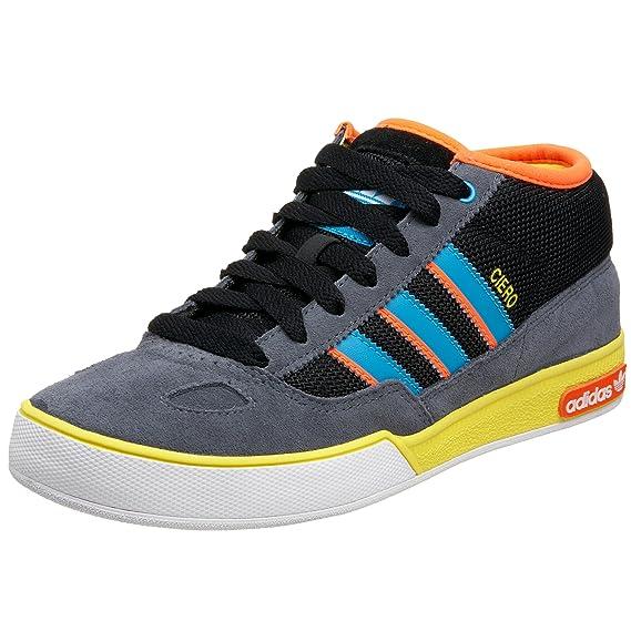 new york f095e 2b2b4 Adidas Originals Mens Ciero Mid Sneaker,BlackTurquoiseWarn ...