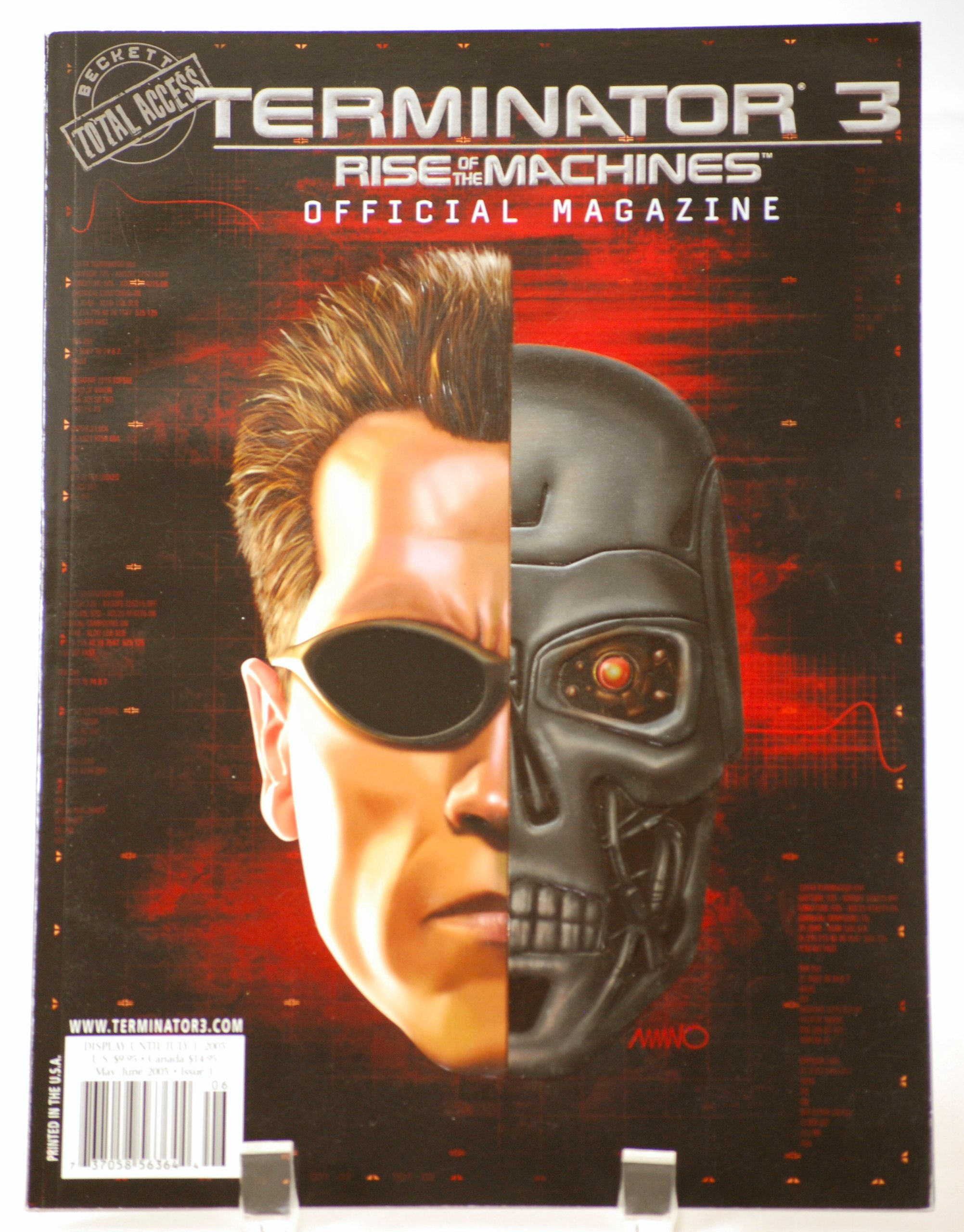 Terminator 3 - Rise of the Machines - Official Magazine - Vol. 1 No. 1 ebook