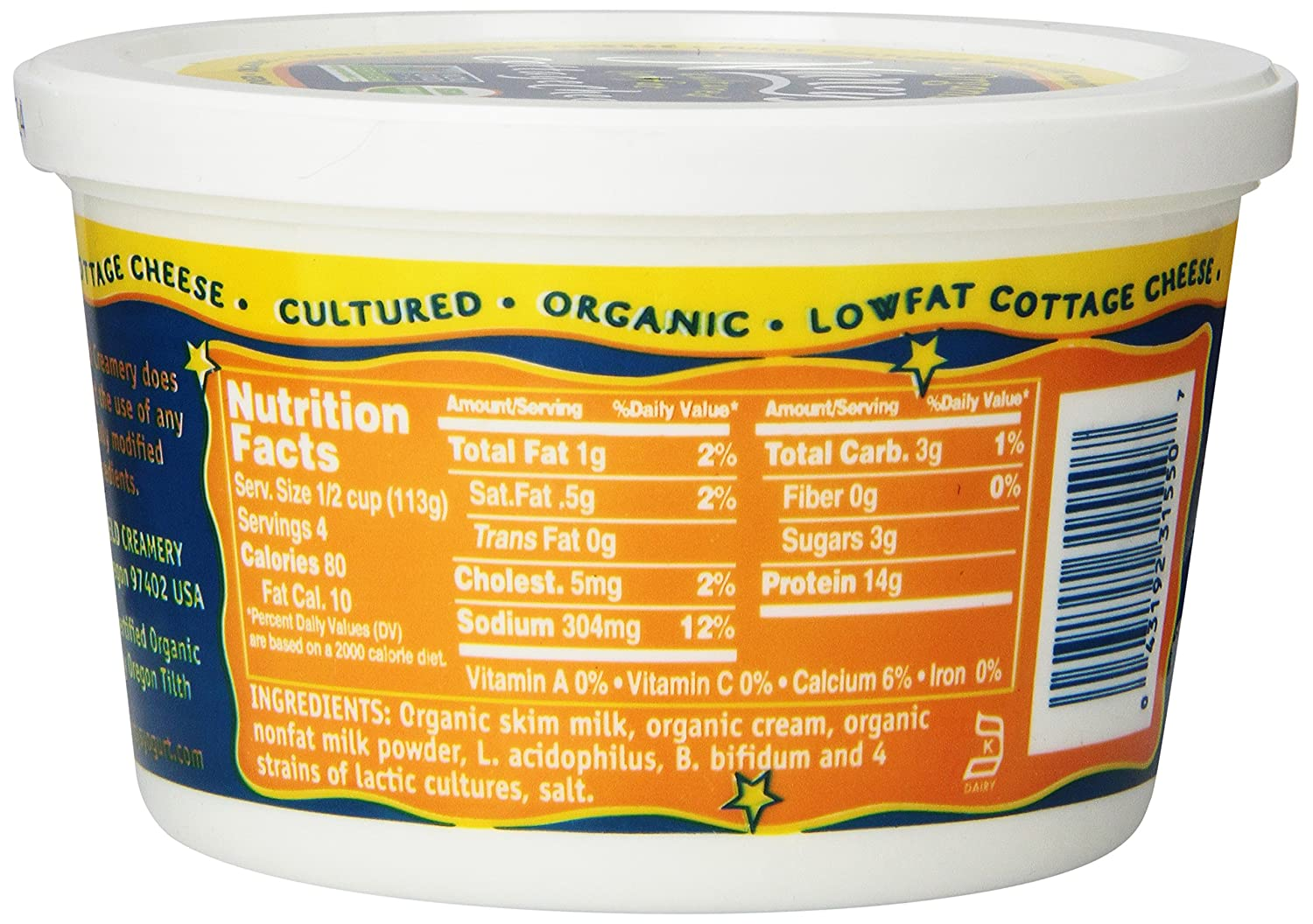 nancys cultured cottage cheese low fat 16 oz amazon com