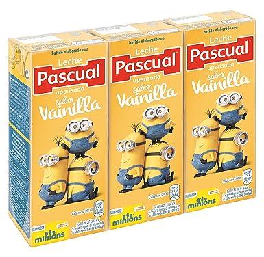 Pascual Batido Vainilla - Paquete de 3 x 200 ml - Total: 600 ml -