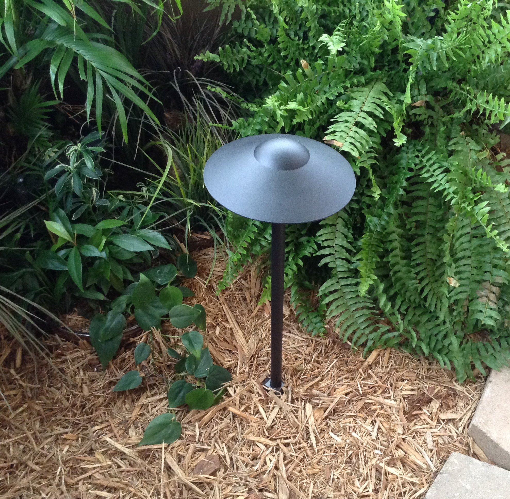 Set of 4 - LED Sagitarius Black Color Path Light By Pinnacle Lights - Low Voltage Outdoor Landscape Lighting