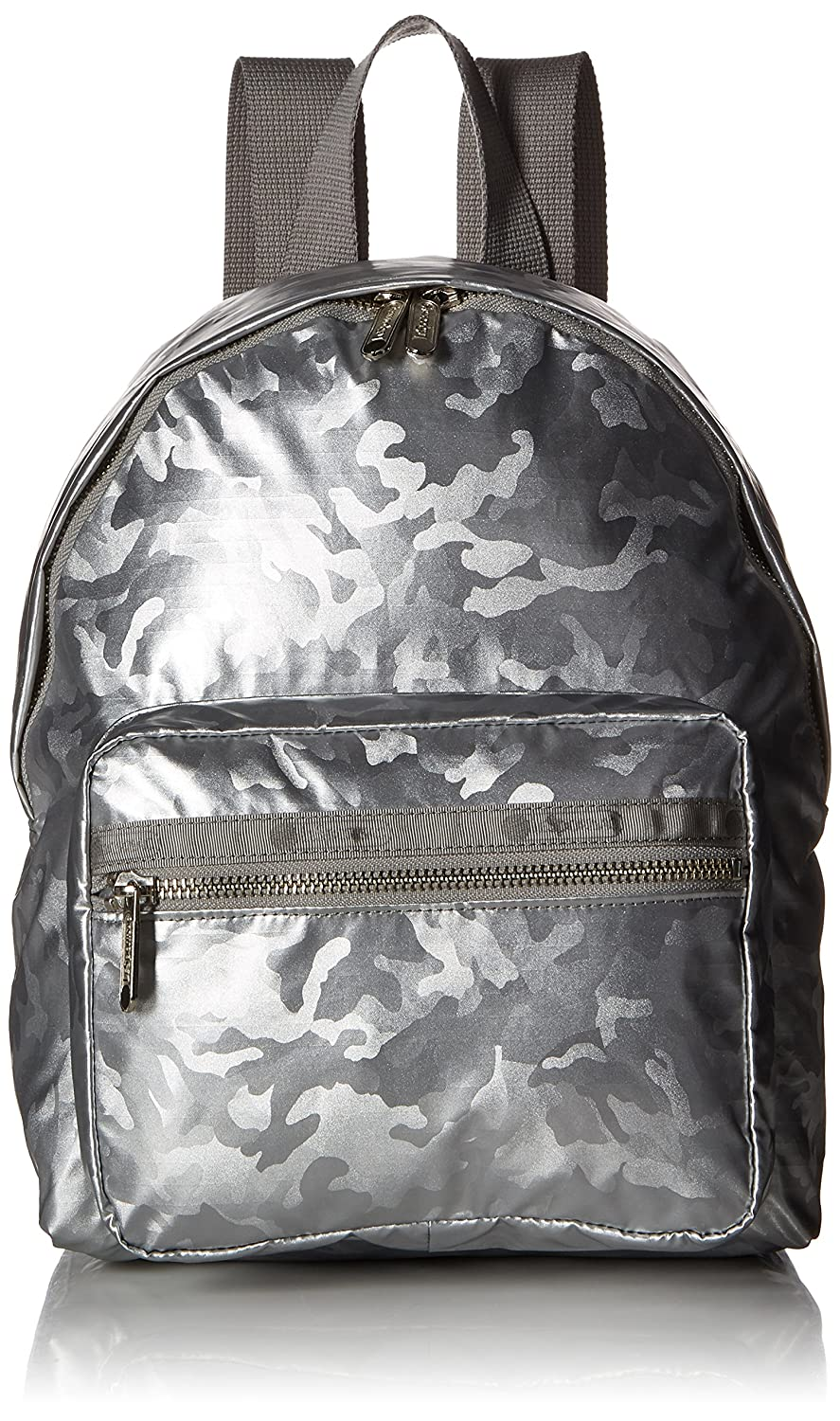 Patent Camo Silver One Size LeSportsac Classic Cruising Backpack