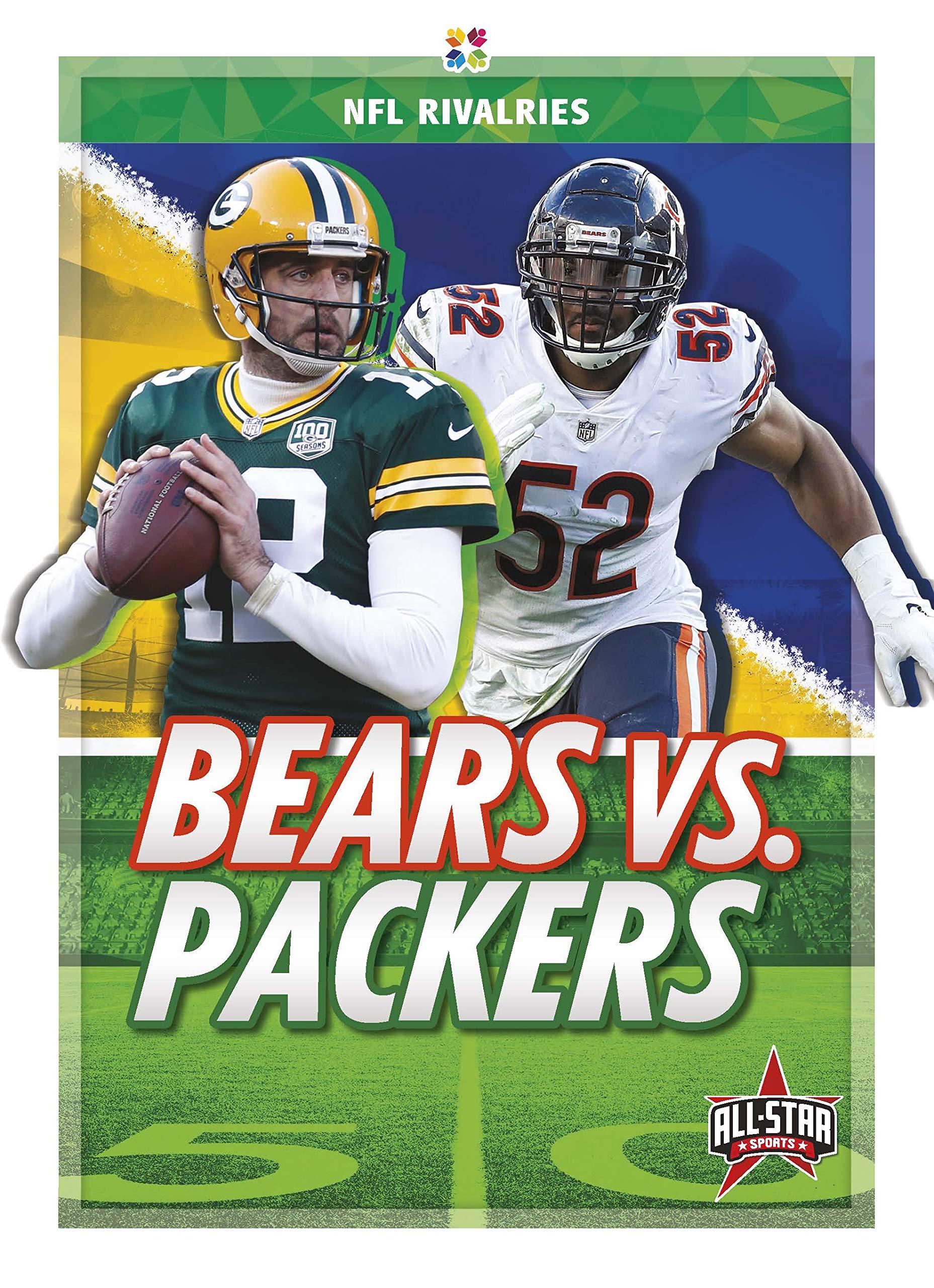 Bears Vs Packers Nfl Rivalries Anthony K Hewson 9781644941645 Amazon Com Books
