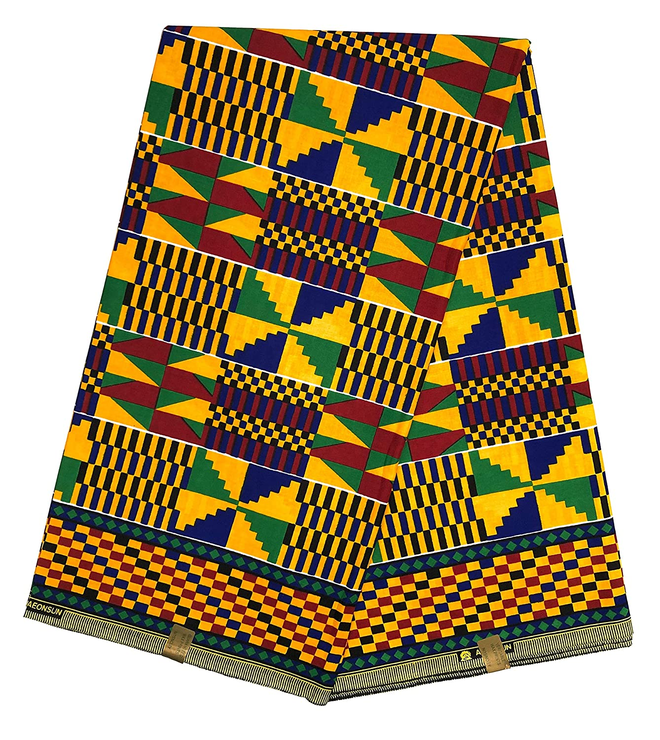 HITARGET Wax Pagne Tissu Africain Kinte Kente Kita Collection Original 6 Yards imprim/é Top qualit/é 100/% Pur Coton r/éf AB