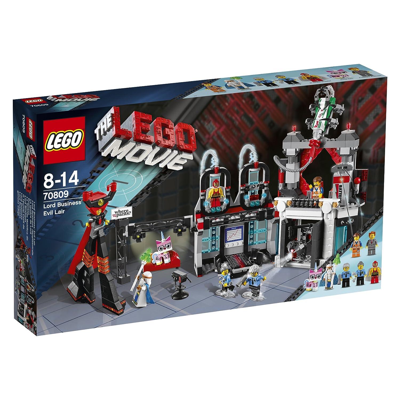 レゴ (LEGO) ムービー おしごと大王のアジト 70809   B00F3B3IW8